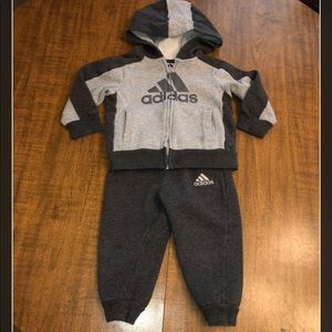 """Adidas"" 2-Piece Jogger Set..18Mos"